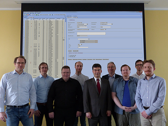 The colleagues of the ORSOFT team Master Data Workflow